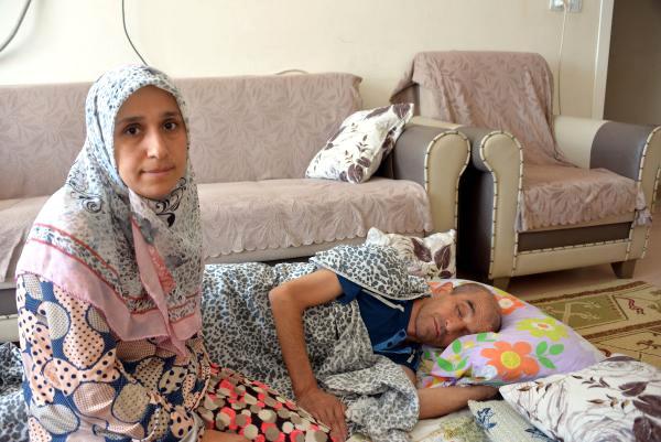 3 Çocuk Annesi, Eşinin Sağlığına Kavuşmasını Bekliyor