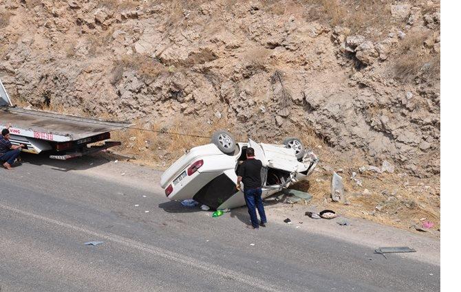 Nurhak yolunda kaza: 7 yaralı