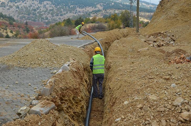 Maraş'ta su hattı yapım çalışmaları başladı