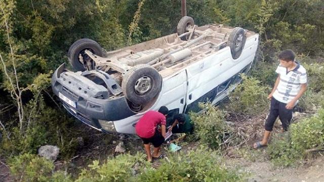 Maraş'ta kaza: 5 yaralı