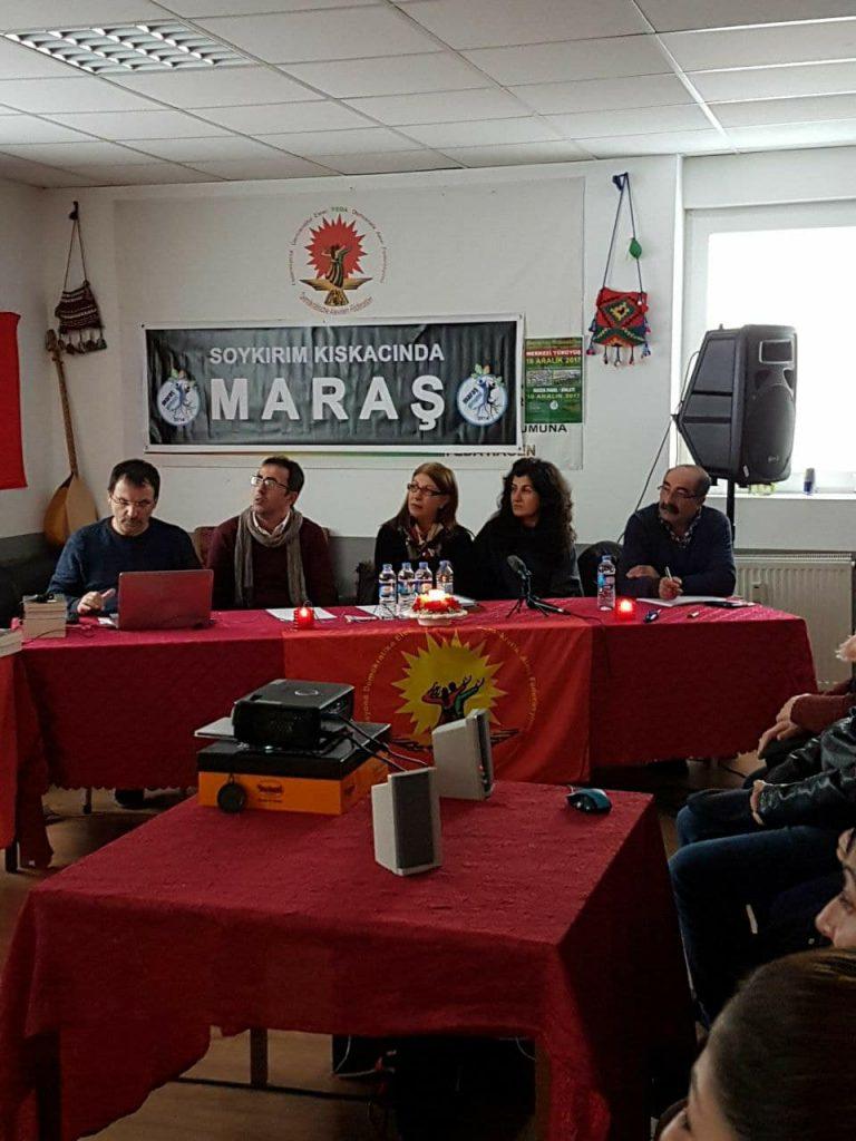 'Soykırım Kıskacında Maraş' paneli yapıldı