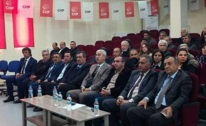 Nurhak CHP'de Celal Ceritli yeniden ilçe başkanı