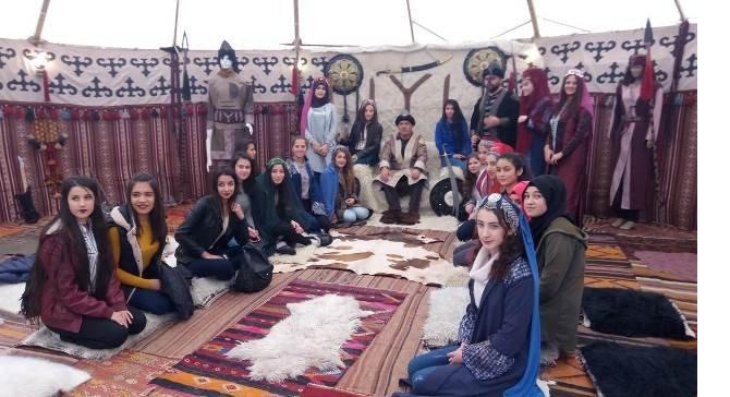Nurhaklı öğrencilere kültür gezisi