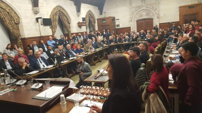Britanya Parlamentosu'nda 40. yılında Maraş'ta katledilenler anıldı