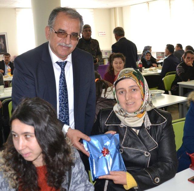 Andırın'da Engellilere Kütüphane Etkinliği