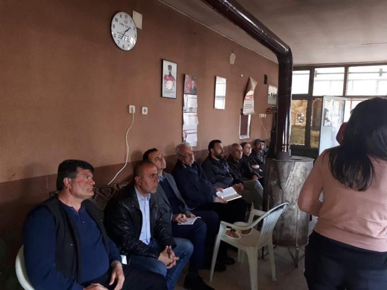 Hayatı Ve Doğayı Koruma Platformu Barış Köyünde gerçekleştirilen toplantıya Katıldı