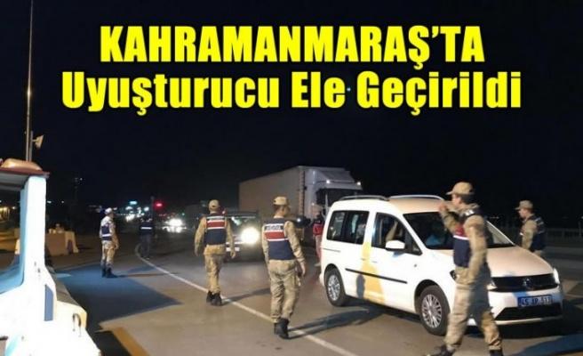 Kahramanmaraş'ta yol uygulamasında uyuşturucu ele geçirildi