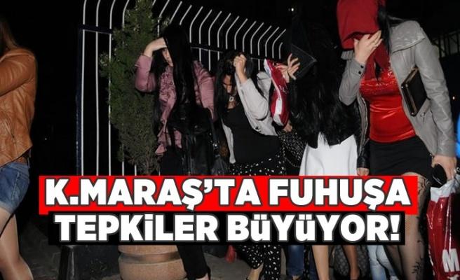 Kahramanmaraş'ta Fuhuşa tepkiler büyüyor