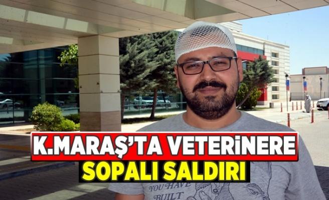 Kahramanmaraş'ta veterinere sopalı saldırı