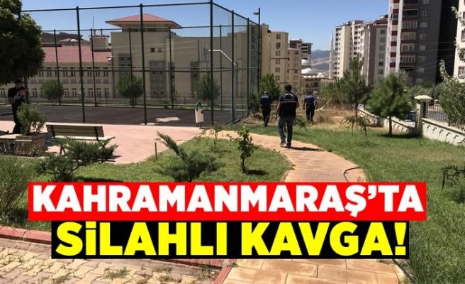 Kahramanmaraş'ta iki aile arasında silahlı kavga: 1 kişi yaralandı