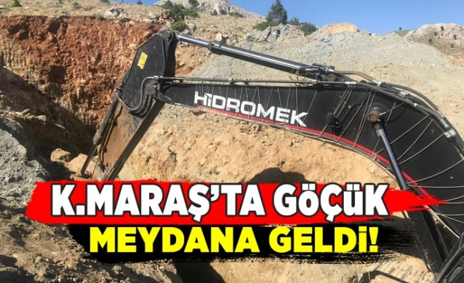 Kahramanmaraş'ta kuyuda göçük meydana geldi: 1 Ölü