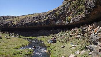 Etiyopya'da insanoğlunun yüksekte kurduğu en eski yaşam alanı keşfedildi