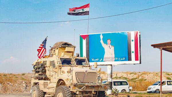 ABD güçleri Irak'tan Suriye'ye geri döndü