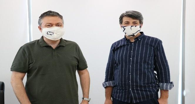 Kahramanmaraş'ta koronaya karşı özel maske