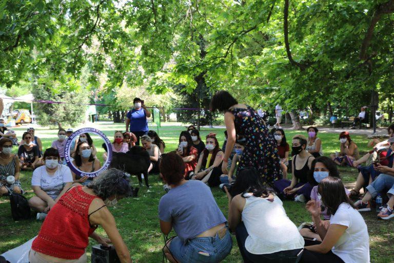 Ankara Kadın Platformu: İstanbul Sözleşmesini sahiplenmek için mücadeleye devam-VİDEO