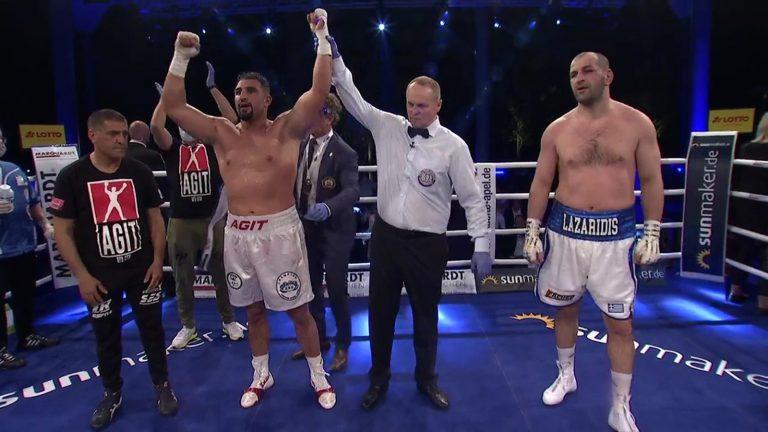 Pazarcıklı Agit Dünya Boks Şampiyonu Oldu