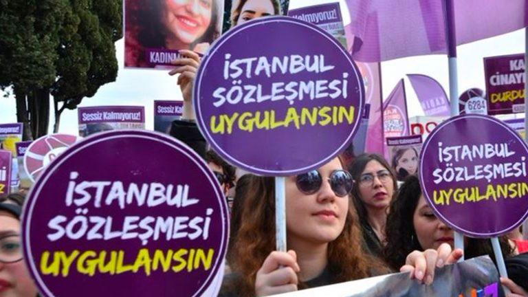 'İstanbul Sözleşmesi'nden çekilmek, kadına karşı şiddeti önleme görevini terk etmektir'
