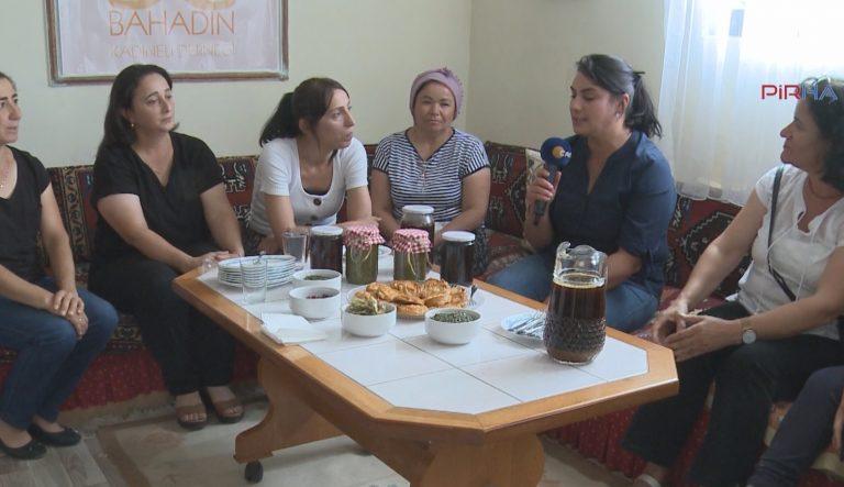 Bahadınlı kadınlar dernek kurdu, imece ile yöresel ürünler üretiyorlar-VİDEO