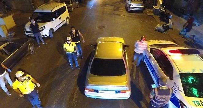 Kahramanmaraş'ta maske takmayan 16 kişiye 21 bin 785 lira ceza