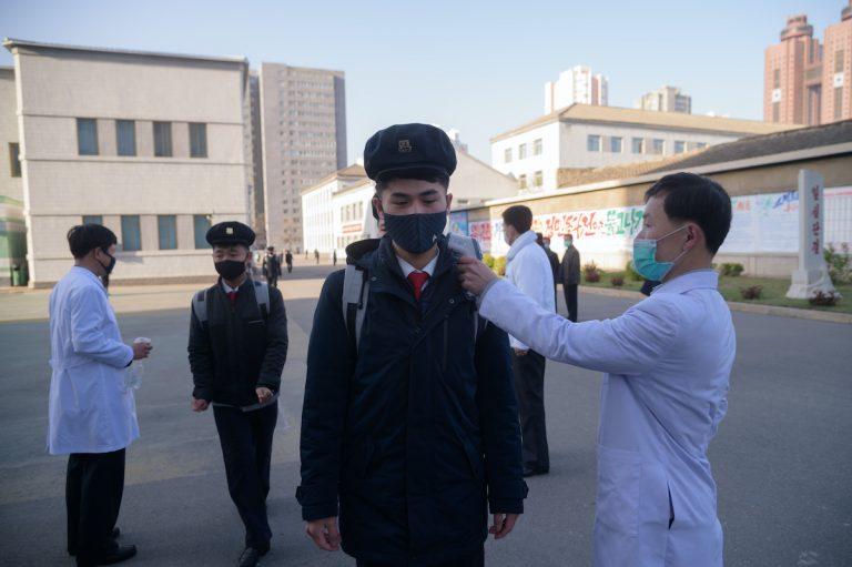 Kuzey Kore'den virüse mayınlı önlem