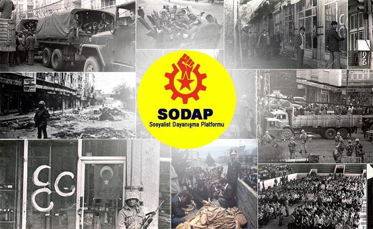 SODAP: Maraş'ı unutmadık, unutturmayacağız!