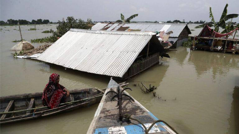 2020'de sadece 10 doğal afet 13 milyon kişiyi yerinden etti
