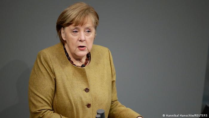 Merkel'den üçüncü dalga uyarısı