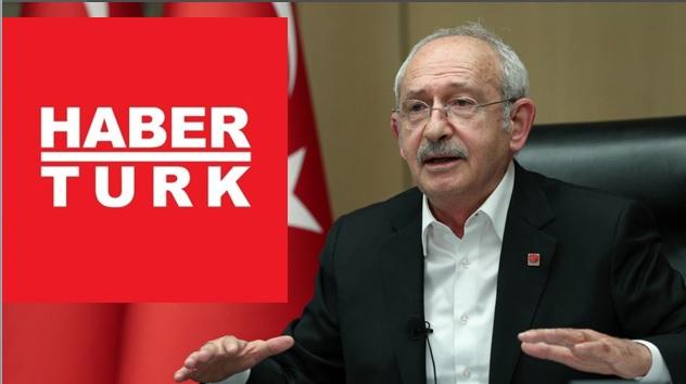 Kılıçdaroğlu'nun yayınını kesen Habertürk'e CHP'den boykot