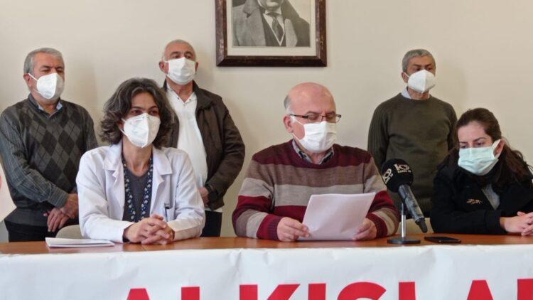 Mersin Tabip Odası: Sesimizi duyun; ölmeye devam ediyoruz