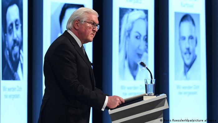 Steinmeier: Hanau saldırısının aydınlatılması devletin yükümlülüğüdür