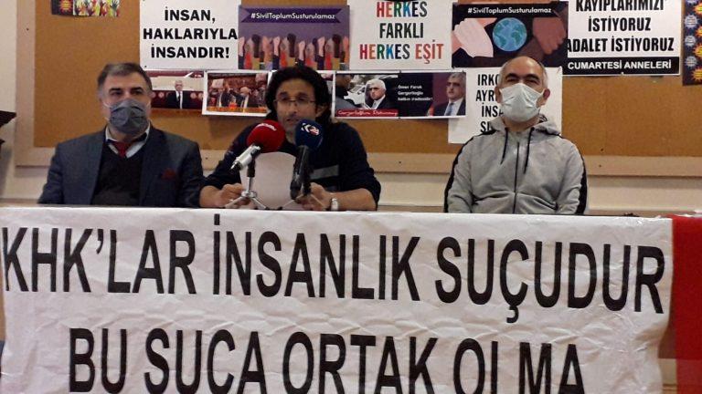 İstanbul KHK'lılar Platformu'ndan Gergerlioğlu'na destek