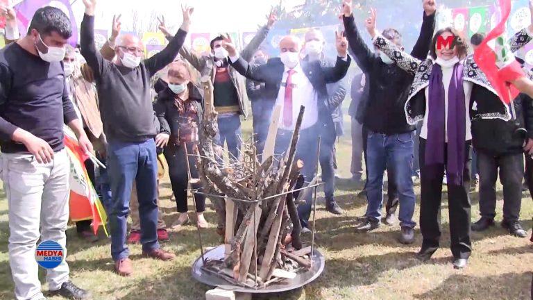 Pazarcık'da Newroz Kutlandı