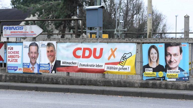 Almanya'nın iki eyaletinde CDU'nun tarihi yenilgisi