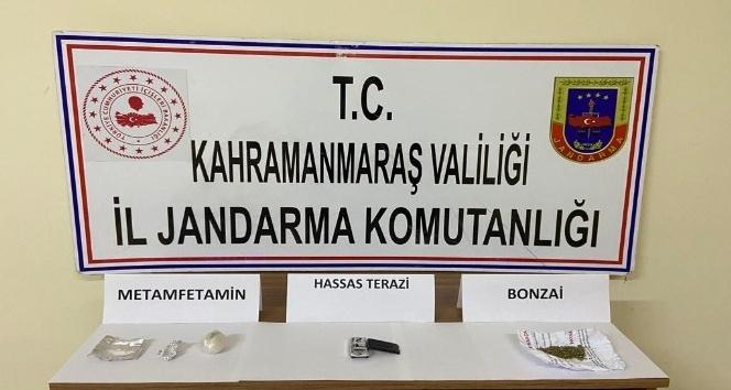 Pazarcık'ta uyuşturucuya 11 gözaltı