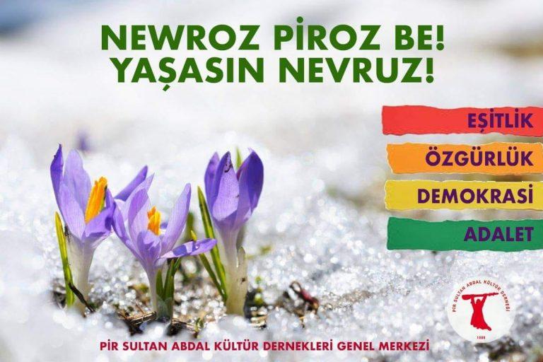 PSAKD: Newroz ezilenler için umut ve mücadelenin, zalimler için ise korkunun günüdür