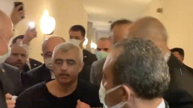 Meclis'te zorla gözaltına alınan Gergerlioğlu serbest bırakıldı