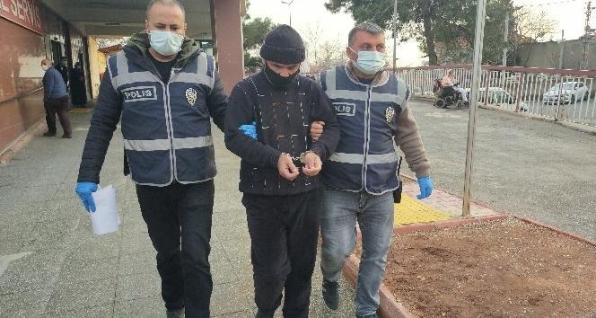 Kahramanmaraş'ta bilgisayar hırsızı tutuklandı