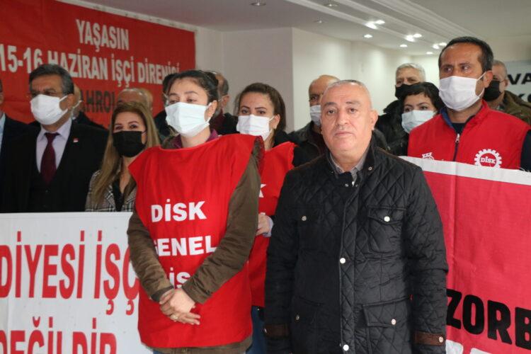 Akdeniz Belediyesi'nden DİSK'li kadın işçilere 8 Mart cezası-VİDEO